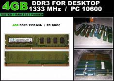 Memorie RAM Calculator 4GB DDR3 1333MHz foto