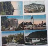 Cumpara ieftin 6 CARTI POSTALE BRASOV (intarite spate - AUSTRO-UNGARIA si INTERBELIC), Ambele, Romania 1900 - 1950