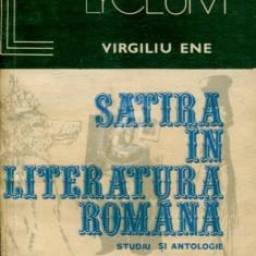 Satira in literatura romana. Studiu si antologie, vol. 1, 2