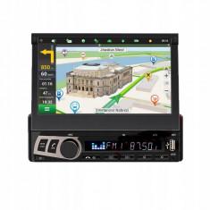 Mp5 Player M706L 1DIN Ecran retractabil tactil 7 Inch GPSRomana,Bluetooth