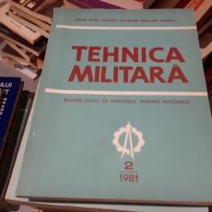 Tehnica militara 2/1981