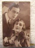 Carte Postala frantuzeasca, circulata interbelic la Focsani .Amprenta scrisa., Fotografie
