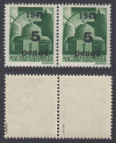 ROMANIA 1945 ARDEALUL DE NORD ORADEA I 5P/1P PERECHE  MNH AUTENTIFICARE BODOR