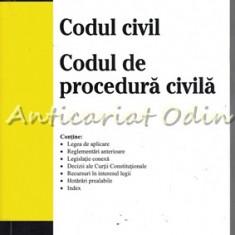 Codul Civil. Codul De Procedura Civila