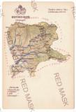 4007 - BISTRITA, Nasaud, RADNA, Rusu-Bargaului, Romania, MAP - old pc. - unused