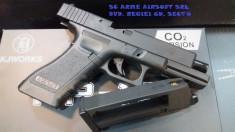 Pistol GLOCK KP17 CO2/ Airsoft- incarcator interschimbabil cu gaz foto