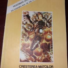 CREȘTEREA MĂTCILOR *BAZE BIOLOGICE ȘI INDICAȚII TEHNICE/ DR. F. FRUTTNER/ 1980