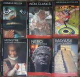 7 carti Mayasii,Monstrii,India clasica,Colectiile Cotidianul Enciclopedica