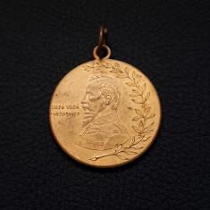 Medalie 1909 - Cuza Voda - Unirea Principatelor