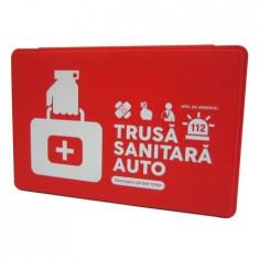 Trusa Medicala Auto Sanitara Prim Ajutor Valabila 5 Ani