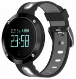 Cumpara ieftin Bratara Fitness iUni DM58 Plus, Waterproof, Display OLED, Ceas, Pedometru, Monitorizare puls, Notificari, Gri