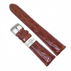 Curea de ceas Morellato - Maro - Piele Veritabila Crocodil - 18mm / 20mm - A01U0518052041CR