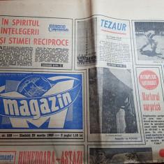 Magazin 29 martie 1969-articol orasul hunedoara,george enescu