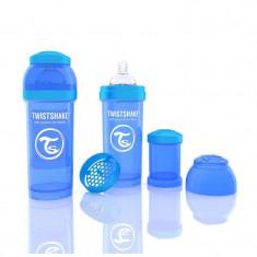 Biberon Anti colici 260 ml Twistshake Albastru