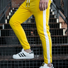 Pantaloni trening bărbați galben Bolf 11120