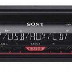 Player auto Sony CDXG1200U, 4 x 55 W, USB, AUX, RCA (Negru)