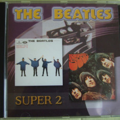 THE BEATLES - Help ! / Rubber Soul - CD ca NOU