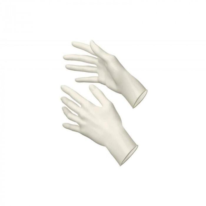Manusi de unica folosinta nepudrate, marime S, latex, 100 bucati