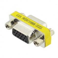Adaptor VGA mama - VGA mama, 15pini, DB15HD - 124087
