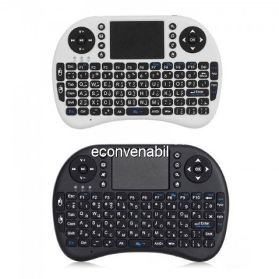 Mini Tastatura Wireless Touchpad pentru XBox, PS, PC, Smart TV MWK08 foto