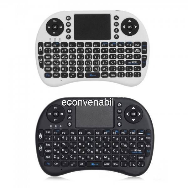 Mini Tastatura Wireless Touchpad pentru XBox, PS, PC, Smart TV MWK08