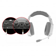 Casti gaming Trust GXT 322W, White camouflage