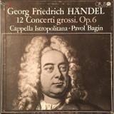 Box Set 4 Viniluri Georg Friedrich Händel- 12 Concerti Grossi