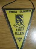 Sportul Studentesc-Hellas Verona (9 decembrie 1987) - fanion