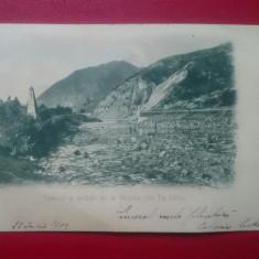 Tunelul si podul de la Mosora din Tg.Ocna, Circulata, Printata, Targu Ocna