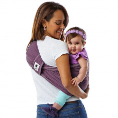 Sistem Purtare Baby K'tan Baby Carrier Original Cotton - EGGPLANT - Marimea S