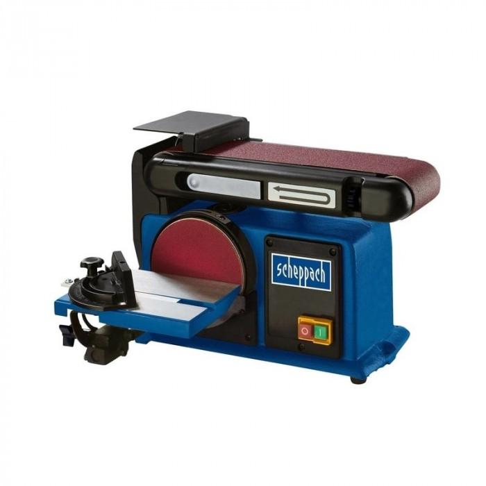 Masina de slefuit cu banda si disc BTS900 Scheppach SCH5903306901, 370 W, 2850 rpm