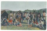 5156 - BRASOV, Ethnics Gypsy, Romania - old postcard, CENSOR - used - 1916