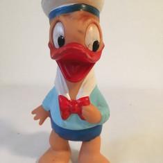 Jucarie cauciuc Aradeanca, Ratoiul Donald, anii '60-'70, 15cm, stanta pe spate
