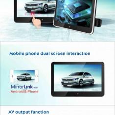 "Display tetiera HD 10.1"" cu touch screen si mirror link AL-220319-11"