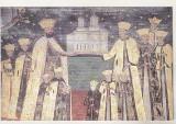 Bnk cp Manastirea Hurezi - Vedere - necirculata, Horezu, Printata