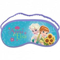 Masca de protectie pentru somn Frozen, mov