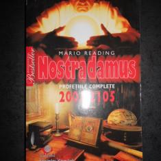 MARIO READING - NOSTRADAMUS. PROFETII COMPLETE 2001-2105 (cotor uzat)