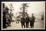 P.103 FOTOGRAFIE RAZBOI WWII MILITARI OFITERI GERMANI WEHRMACHT 9/6cm