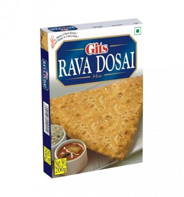 GITS Rava Dosai Mix (Clatite din Gris Semi-Preparate) 200g foto