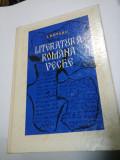 LITERATURA ROMANA VECHE - I. ROTARU