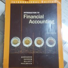 C. T. Horngren, G L Sundem, J A. Eliot, Introducere în contabilitatea financiară