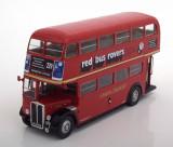 Macheta AEC Regent III RT autobuz Londra - IXO/Altaya 1/43