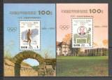 Coreea de Nord.1994 100 ani Comitetul Olimpic International-Bl. SC.185
