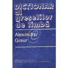 Dictionar al greselilor de limba