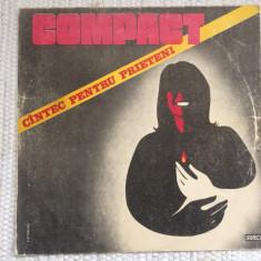 compact cantec pentru prieteni disc vinyl lp muzica rock electrecord ST EDE 3501