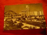 Ilustrata Ploiesti - Halele Centrale circulat 1965