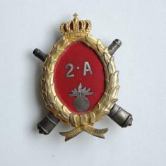 Insigna regiment de 7 ani - Regimentul 2 Artilerie