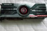 Placa video GIGABYTE Radeon HD6990 4GB GDDR5 2x 256-bit Dual Gpu Box