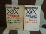 UN VEAC DE SINGURATATE/TOAMNA PATRIARHULUI-GABRIEL GARCIA MARQUEZ (2 VOL)