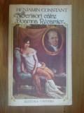 z1 Scrisori Catre Doamna Recamier- Benjamin Constant